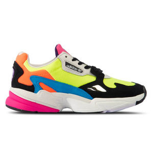 adidas Shoes - Women's Adidas Falcon Hi-Res Shoes Neon Yellow 9.5